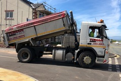 Hourly Equipment Rental: Volvo FM9 4 Wheel Insulated Tipper Truck with Tar Chutes
