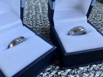 Ilmoitus: Valkokultaiset timanttisormukset