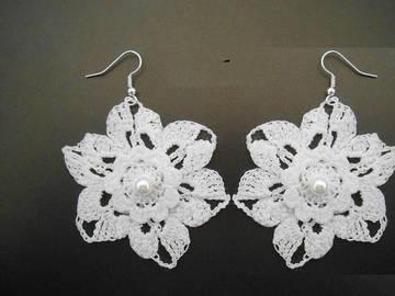 Vente au détail: bijoux mariage,Boucles d'oreilles au crochet.bijoux au croch