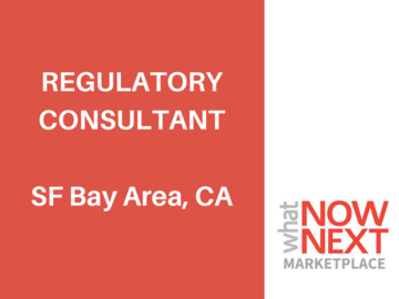Help Needed: Regulatory Consultant