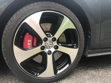 Selling: 18x7.5  5x112 Stock 2017 GTI Austins