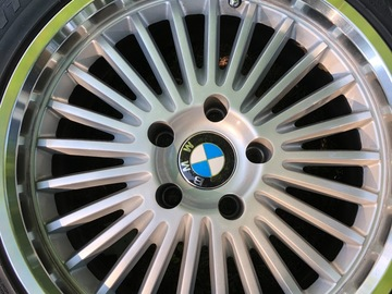 Selling: BMW multi-spoke wheels and tires
