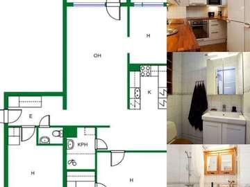 Annetaan vuokralle: Nice 4-room apartment for rent in Leppävaara