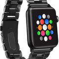 Sell: 40 x Platinum Series Black Chain Apple Watch Bands Bracelets
