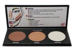 Sell: 20 units - City Color Contour Effects Palette Bronze