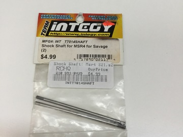 Selling: Team integy Shock Shaft for MSR4 for Savage (2)