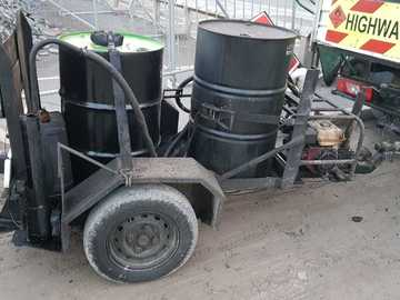 Daily Equipment Rental: Bitumen Emulsion Sprayer 90 Gallon
