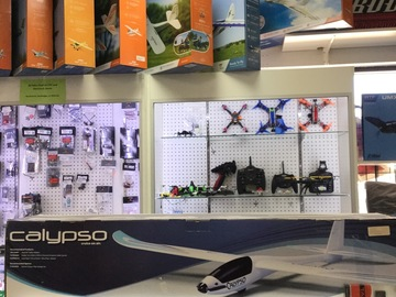 Selling: Flyzone calypso EP glider w/Tactic TR624 receiver