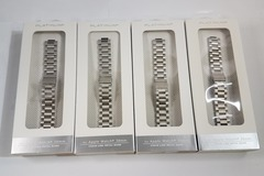 Sell: 40 x Platinum Series Silver Chain Apple Watch Bands