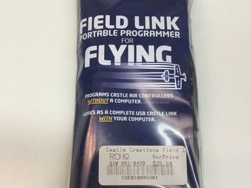 Selling: Castle tuning card field link programmer