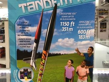 Selling: Estes Tandem-X rocket set (2 rockets)