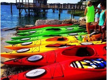 Renting Out with per Day Availability Calendar: Kayak Rentals