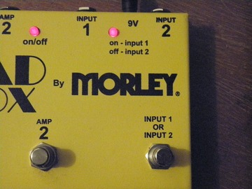 Renting out: Morley Quad Box AB Combo Switch
