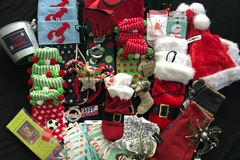 Sell: 185 pc Christmas Decoration Lot