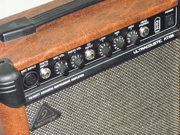 Renting out: Behringer Ultracoustic AT108