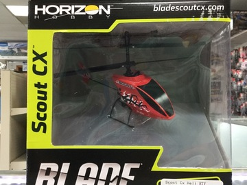 Selling: Blade Scout CX Heli RTF