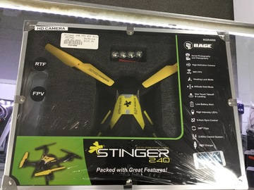 Selling: Rage Stinger 240 FPV RTF Drone