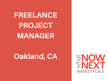Help Needed: Freelance Project Manager
