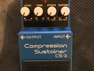 Renting out: Boss Cs-3 compression pedal