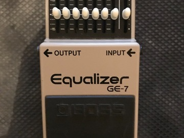 Renting out: Boss Ge-7 Graphic EQ