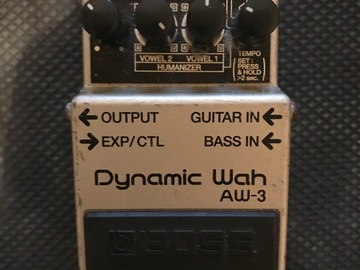 Renting out: Boss Aw-3 Auto Wah
