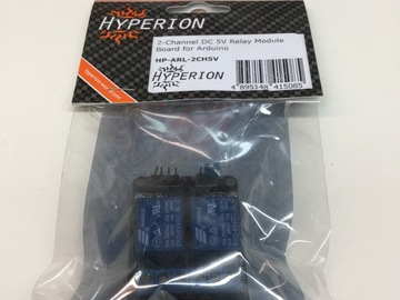 Selling: Hyperion 2-Channel DC 5V Relay Module Board for Arduino