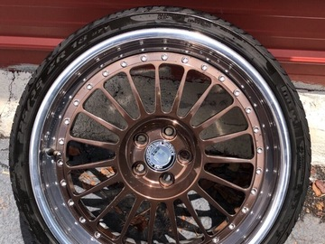 Selling: 18x9.5 | 5x100 | HRE 3- PIECE 309 wheels for sale