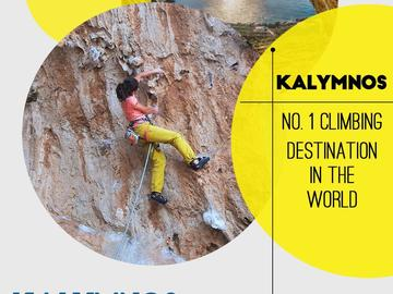 Service/Event: ROCK CLIMBING CAMP IN KALYMNOS