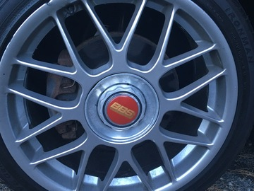 Selling: 18x7.5 | 5x100 | BBS RC 336 wheels for sale