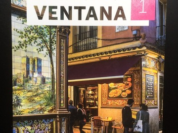 Myydään: Ventana 1, Spanish textbook