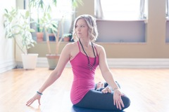 Class Offering: Vinyasa Flow with guided meditation
