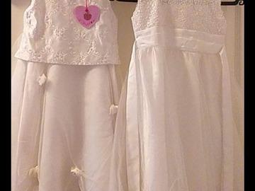 Ilmoitus: 2kpl morsiustyttöjen mekkoja