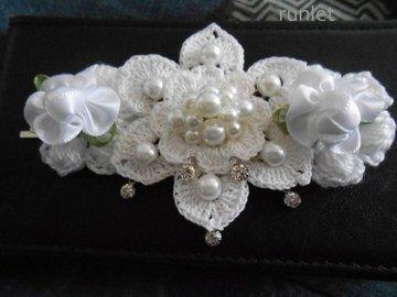 Sale retail: Barrette mariage/cheveux clips fleurs/fleur pince cheveux/Ac