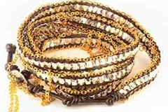 Sell: BoHo Gold Chain Fringed Wrap Bracelets