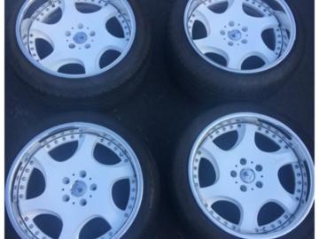 Selling: 18x10 & 18x11 | 5x114.3 | kranze bazreia wheels for sale