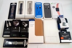 Buy Now: Sample Lot! New Apple & Samsung Accessories - MSRP $404.86