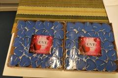 Ilmoitus: Myydään sydänkynttilää 2 pakettia 5e