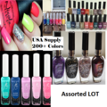 Sell: 50x Bottles of high quality assorted nail polish