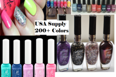 Sell: 100x Bottles of high quality assorted nail polish