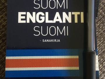 Selling: NEW Suomi-englanti- suomi pocket dictionary