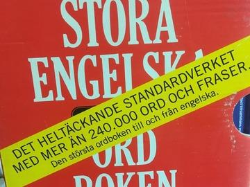 Myydään: Svenska- engelska- svenska dictionary