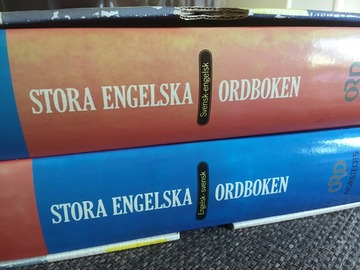 Selling: Big Swedish-English-Swedish dictionary