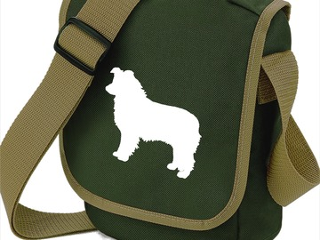 Selling: Border Collie Bags, Shoulder Bag Ideal Gift for Dog Walker