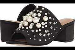 Sell: Lot of 12 Aldo Pearl Studded Mule Sandals with Heel