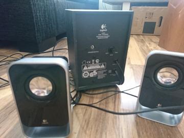 Myydään: Logitech loud speaker