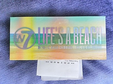 Venta: Paleta Life's a Beach de W7