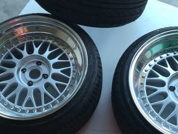 Selling: 17x9.5 | 4x100 | Mtechnica Aeros wheels for sale