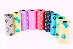 Sell: Biodegradable Multi-Color Pet Waste Bag Rolls