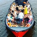 "Rent per hour: Open boat ""Nomag"" max. 52 people"