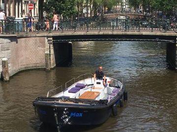 """Rent per hour: Open boat """"Max"""""""